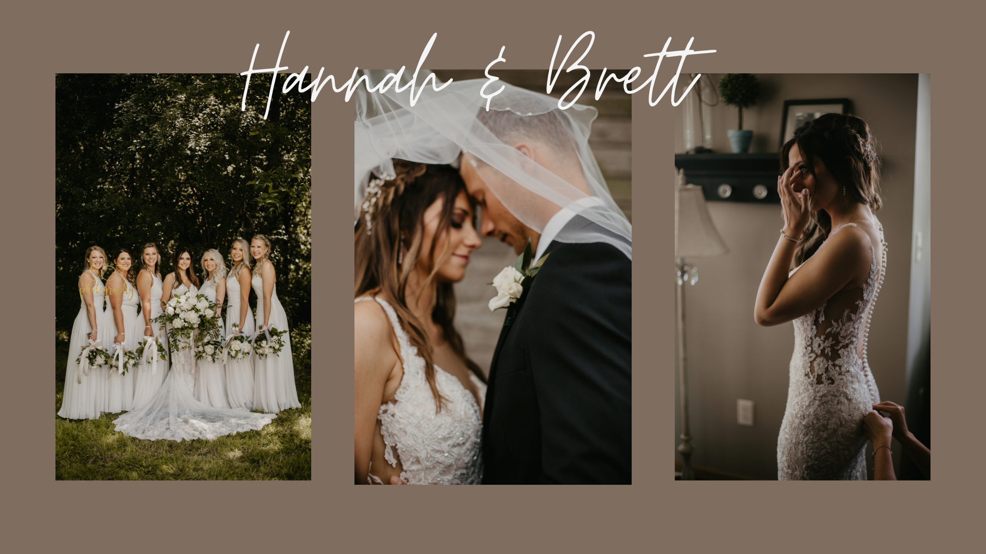 REAL WEDDING // HANNAH & BRETT