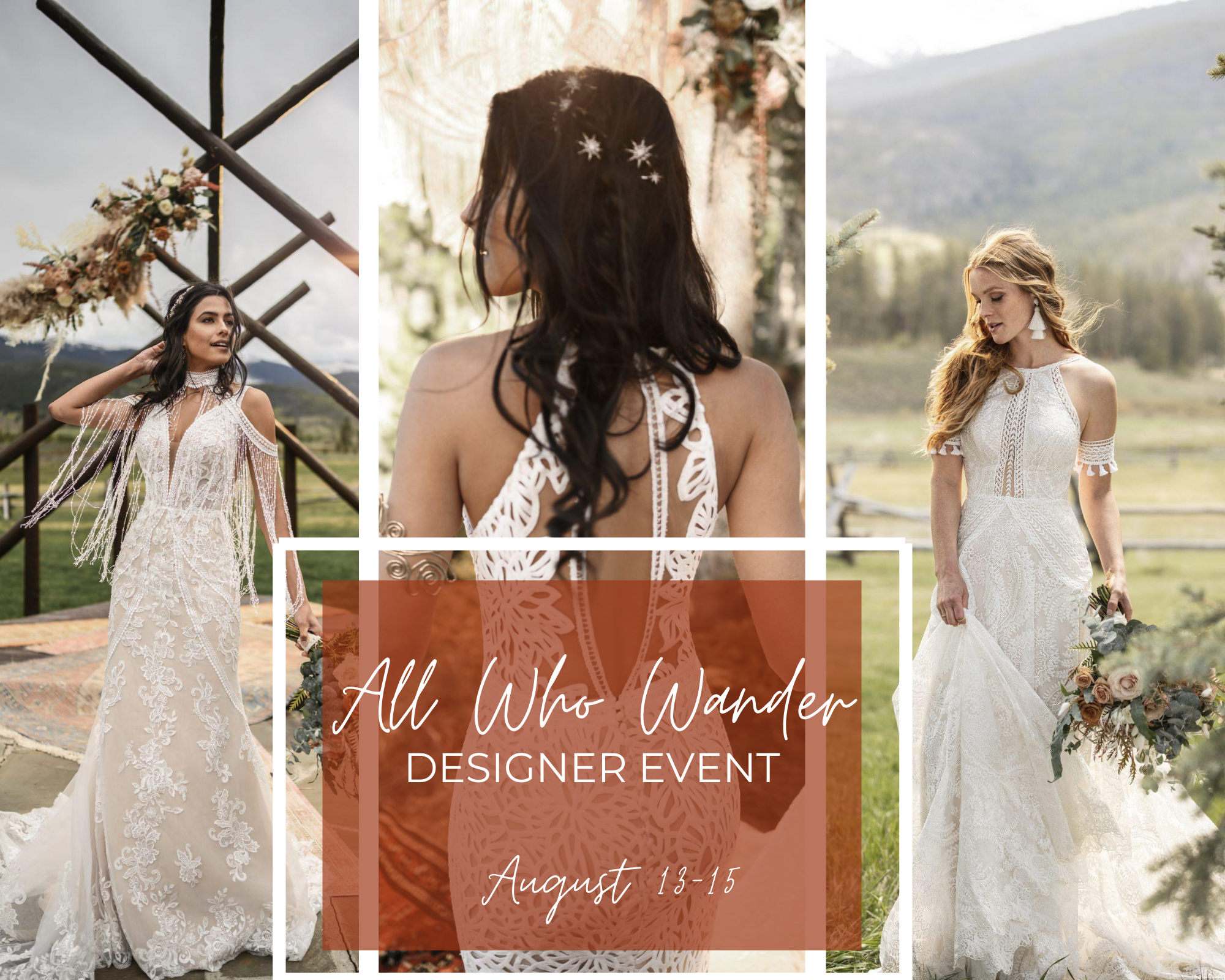 All Who Wander: Designer Event