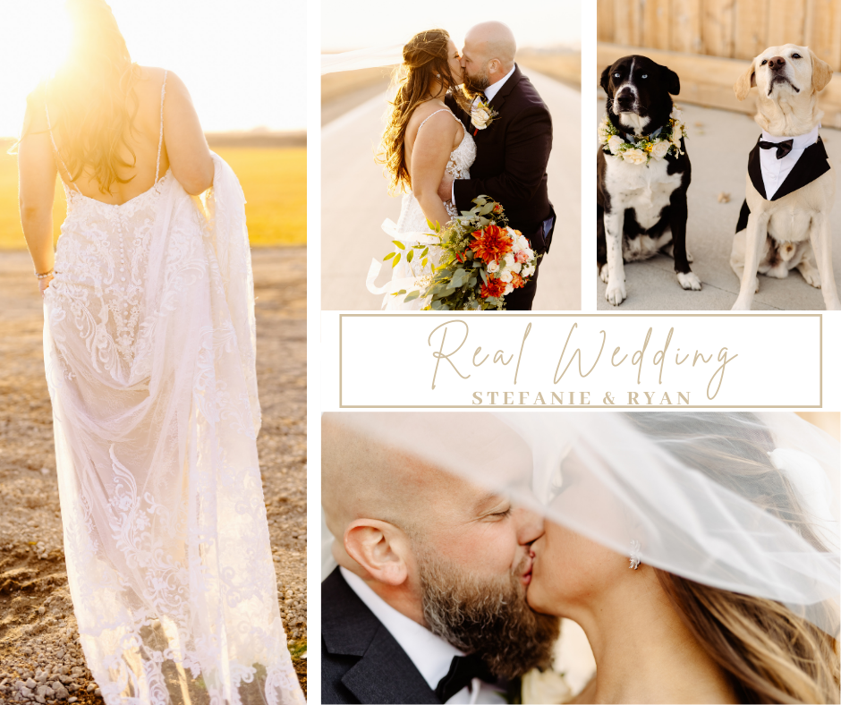 REAL WEDDING // STEFANIE & RYAN